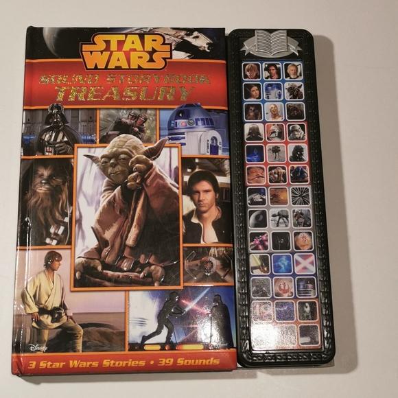 🆕 2 for $25 💘 Star Wars Sound Storybook